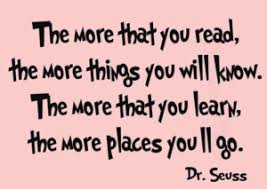 Dr Seuss more reading